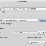 Audiospur mit VLC extrahieren, Schritt 2